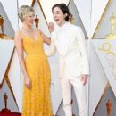 Greta Gerwig and Timothée Chalamet At The 90th Annual Academy Awards  (2018)