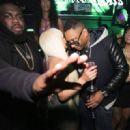Blac Chyna and Maino Hosting at Bijou Nightclub & Lounge in Boston, Massachusetts - March 17, 2015