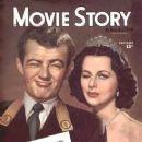 Hedy Lamarr - Movie Story Magazine [United States] (November 1945)
