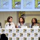 Nicole Beharie- July 26, 2014- Entertainment Weekly: Women Who Kiss Ass Panel and Press Line - 400 x 253