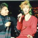 Pamela Holt With Barry Manilow