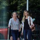Nicola Peltz on set of 'Youth In Oregon' on July 7, 2015 (NY)