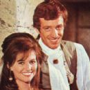 Jean-Paul Belmondo and Claudia Cardinale