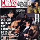 Christopher Reeve, Vera Fischer, Susan Sarandon - Caras Magazine Cover [Brazil] (29 March 1996)