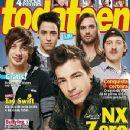 Nx Zero - Toda Teen Magazine Cover [Brazil] (April 2001)