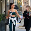 Olivia Culpo – Shopping in West Hollywood