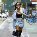 Winnie Harlow – Victoria's Secret Fashion Show Fittings in New York - 454 x 681