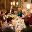 (Clockwise from bottom left) MICHAEL CHRISTOPHER BOLTEN as Mark Baker, MADELINE CARROLL as Juli Baker, AIDAN QUINN as Richard Baker, PENELOPE ANN MILLER as Trina Baker, ANTHONY EDWARDS as Steven Loski, REBECCA DE MORNAY as Patsy Loski, JOHN MAHONEY as Che