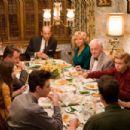 (Clockwise from bottom left) MICHAEL CHRISTOPHER BOLTEN as Mark Baker, MADELINE CARROLL as Juli Baker, AIDAN QUINN as Richard Baker, PENELOPE ANN MILLER as Trina Baker, ANTHONY EDWARDS as Steven Loski, REBECCA DE MORNAY as Patsy Loski, JOHN MAHONEY as Che