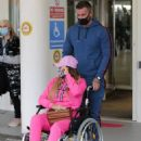 Katie Price – Is seen at the Chelsea and Westminster hospital - 454 x 602