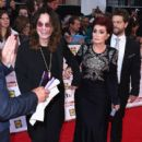 Ozzy Osbourne, Sharon Osbourne and Jack Osbourne attend the Pride of Britain awards at The Grosvenor House Hotel on September 28, 2015 in London, England.