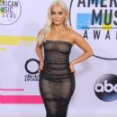 Bebe Rexha attends The American Music Awards - Arrivals (2017)