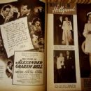 The Story of Alexander Graham Bell - Movie Life Magazine Pictorial [United States] (May 1939) - 454 x 340