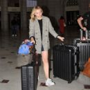 Chloe Moretz – Arrives in Washington