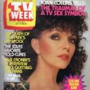 Joan Collins - TV Week Magazine Cover [Australia] (10 July 1982)