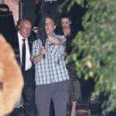 Miranda Kerr and Evan Spiegel – Leaving Gwyneth Paltrow Black Tie Event in LA - 454 x 512