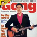 Elvis Presley - Gong Magazine Cover [Germany] (31 December 1994)
