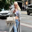 Dove Cameron – Leaving a Store on Hollywood Blvd in LA 3/6/ 2017