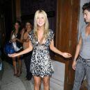 Tara Reid - Kissing Candids Outside Club Hyde