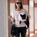 Christina Ricci Picks Up Her Puppy From A Hospital In West Hollywood - May 15 2008
