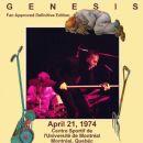 1974-04-21: CHOM-FM, University Sports Complex, Montreal, QC, Canada