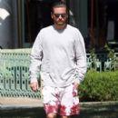 Scott Disick  out running errands in Calabasas, California on August 2, 2016 - 393 x 600