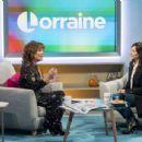 Natalie Imbruglia – Lorraine TV Show in London - 454 x 345
