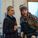 Greta Gerwig and Travis Fimmel