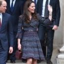 The Duke and Duchess of Cambridge Visit Paris: Day Two - 395 x 600