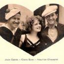 Clara Bow, Maurice Chevalier & Jack Oakie