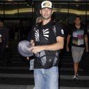 Paul Walker Arriving At The Los Angeles International Airport