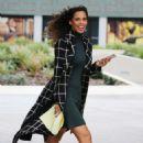 Rochelle Humes – Filming Outside ITV Studios in London - 454 x 662