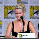 Alice Eve – Marvel's 'Iron Fist' Panel at 2018 Comic-Con in San Diego - 454 x 604
