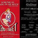 42nd Street Original 1981 Broadway Cast Starring Jerry Orbach - 454 x 360
