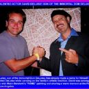 MULTI-TALENTED ACTOR DAVID DELUISE! SON OF THE IMMORTAL DOM DELUISE!