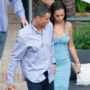 Georgina Rodriguez and Cristiano Ronaldo out in Malaga - 454 x 682