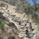 Justin Bieber goes for a hike in Runyon Canyon in Hollywood, California on September 3, 2016