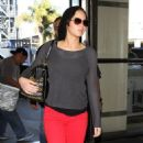 Jennifer Lawrence: at LAX Airport