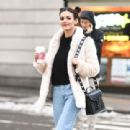Victoria Justice – Out and About During New York Fashion Week, February 2017 - 454 x 311