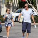 Reese Witherspoon is seen going to the market with husband Jim Toth in Los Angeles, California on June 19, 2016 - 454 x 576