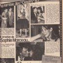 Sophie Marceau - OK! Magazine Pictorial [France] (7 March 1983)