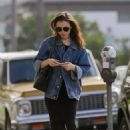 Lily Collins – Out and about in Beverly Hills