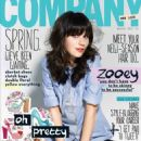 Zooey Deschanel Covers Company March 2012