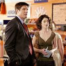 Paul Johansson and Moira Kelly