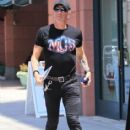 Musician Dee Snider spotted out shopping in Beverly Hills, California on June 27, 2016 - 414 x 600