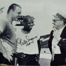 Gale Sayers with Dick Butkus & George Halas