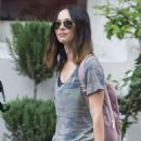 Megan Fox – Shopping Flower out in New Orleans - 454 x 681