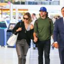 Olivia Wilde and Jason Sudeikis – Arriving at LAX Airport in Los Angeles