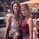 Luciana Gimenez and Ellen Jabour