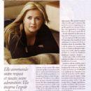Nathalie Simard - Chatelaine Magazine Pictorial [Canada] (1 April 2006) - 454 x 632